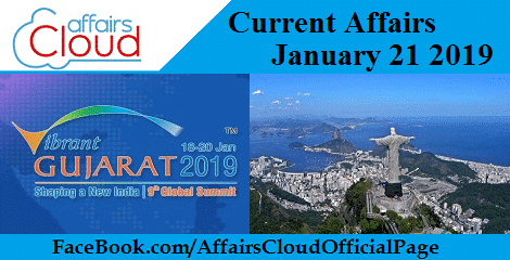 Current Affairs January 21 2019