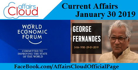 Current Affairs January 30 2019