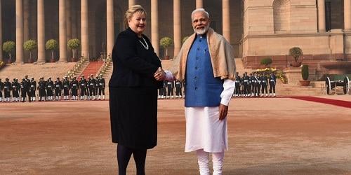 Norwegian PM H.E.Ms.Erna Solberg three day Visit to India