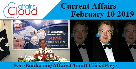 Current Affairs February 10 2019