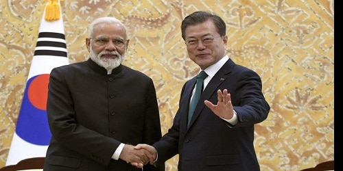 Minister Narendra Modi's Two day Visit to South Korea