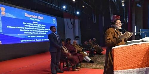PM inaugurated 220 kV Srinagar- Alusteng - Drass- Kargil – Leh Transmission Line