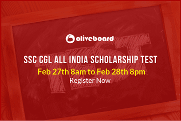 SSC CGL Scholarship Test