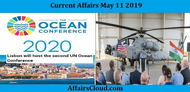 Current Affairs Today May 11 2019 by AffairsCloud
