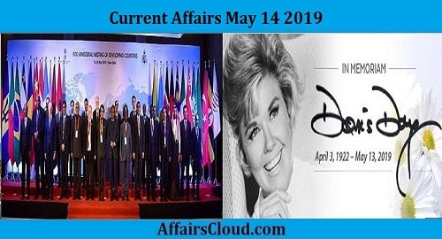Current Affairs Today May 14 2019
