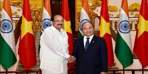 M Venkaiah Naidu visit to vietnam