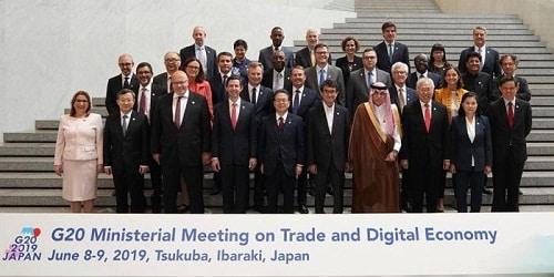 G20 Ministerial Meeting held in Japan
