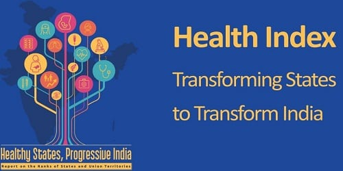 """Healthy States, Progressive India"""" Report released by NITI Aayog"""