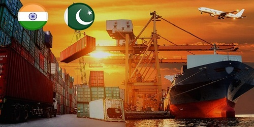 Imports from Pakistan to India declined
