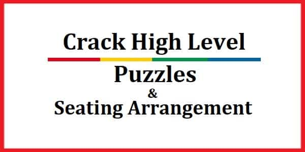 Puzzles & Seating Arrangement