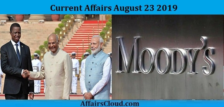 Current Affairs August 23 2019