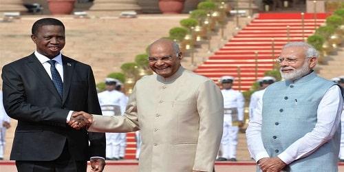 Edgar Chagwa Lungu, visits to India