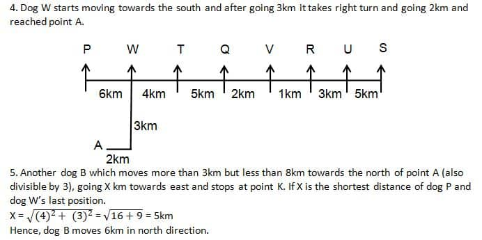 RRB clerk main Reasoning test day 1Q1(1-5)