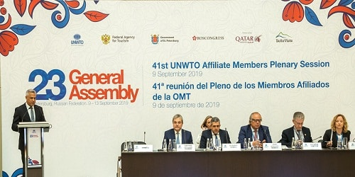 23rd Session of the UNWTO General Assembly for 2019