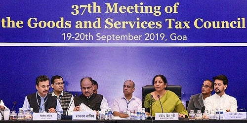 37th GST Council meeting for 2019 held in Panaji, Goa