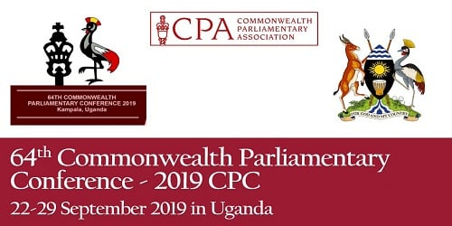 64th Commonwealth Parliamentary Conference for 2019