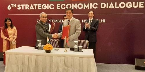 6th India-China Strategic Economic Dialogue 2019
