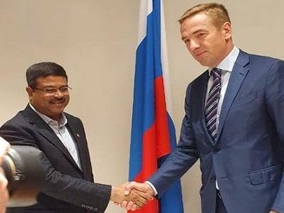 Dharmendra Pradhan's visit to Russia