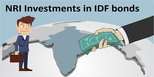 NRI investments in IDF bonds