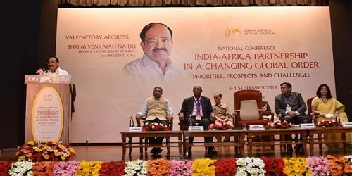 National Conference on India-Africa Partnership in a Changing Global Order