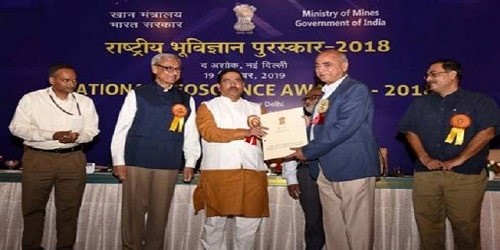 National Geoscience Awards for 2018