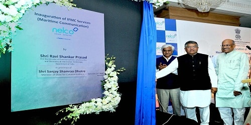 Ravi Shankar Prasad launches India's first Maritime Communication Services