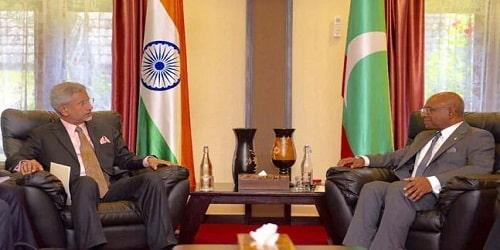 S Jaishankar's visit to Maldives