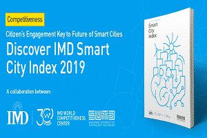 1st citizen-centric IMD Smart Cities Index 2019