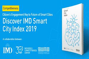 1st citizen-centric IMD Smart Cities Index 2019