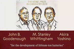 2019 Nobel prize in Chemistry