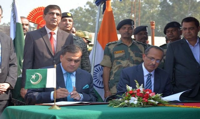 india and pakisthan signed agreement