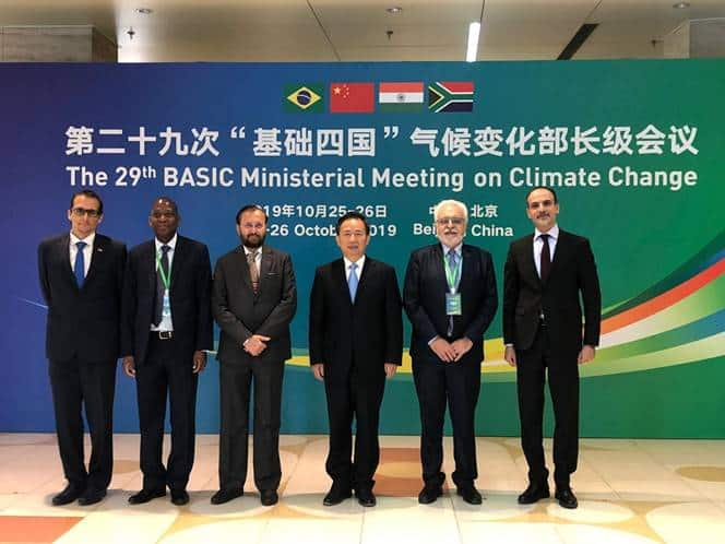 29th BASIC Ministerial Meet on Climate Change