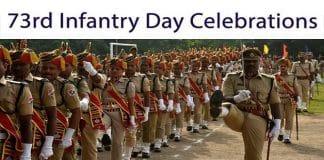 73rd infantry day celebrations
