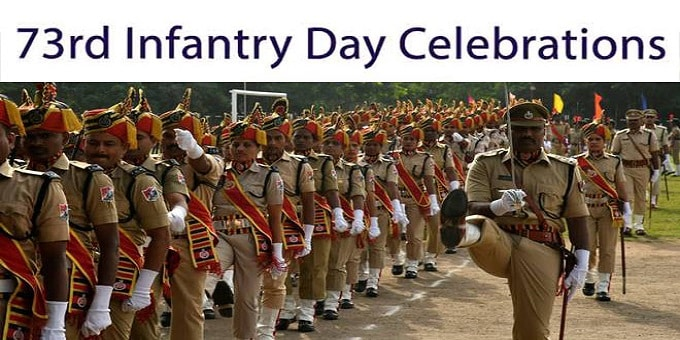 73rd infantry day celebrations