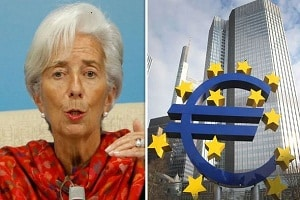 Christine lagarde as the 1st women head of European Central Bank