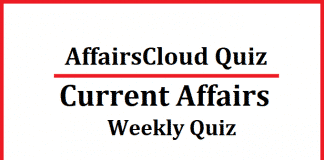 Current Affairs Weekly Quiz & Mock Test