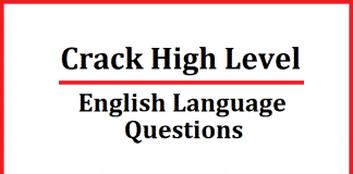 English Language Questions PDF