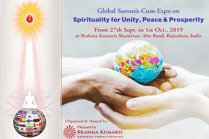 Global Summit on 'Spirituality for Unity, Peace and Prosperity'