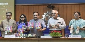 Health Minister Harsh Vardhan launched eco-friendly crackers