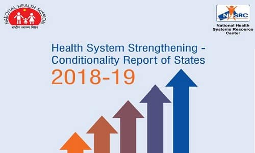 Health System Strengthening Conditionality Report of States 2018-19