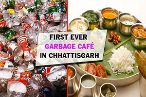 India' s 1st Garbage Cafe