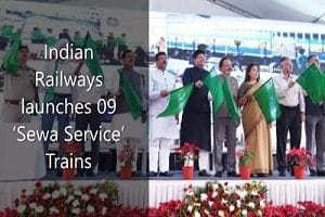 Indian Railways launched 09 'Sewa Service'