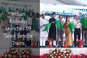 Indian Railways launched 09 'Sewa Service'