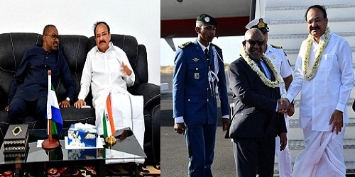 M. Venkaiah Naidu to Comoros and Sierra Leone