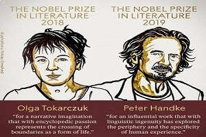 Nobel Prize for Literature for 2018 and 2019