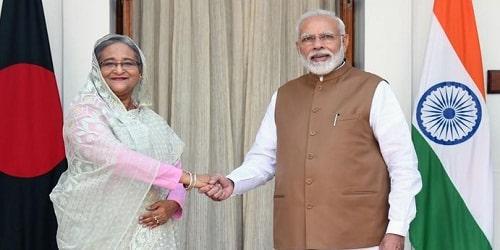 Sheikh Hasina's visit to India