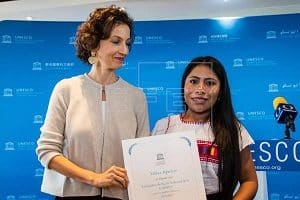 UNESCO appoints Mexican actress Yalitza Aparicio