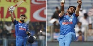 Virat and Bumrah retain top position