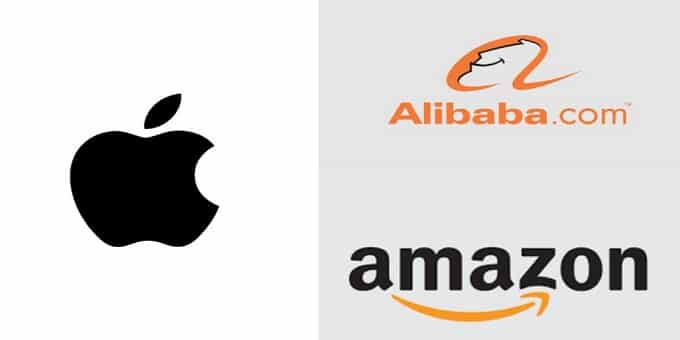 amazon,apple&alibaba