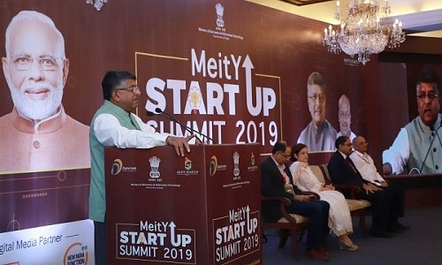first MeitY Start-up Summit 2019